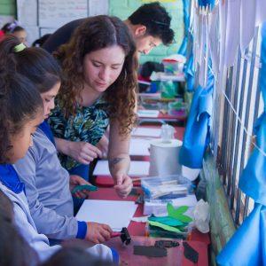 Integrantes de CIET-LR llevan a cabo iniciativa de educación ambiental en escuelas rurales de la Reserva de la Biosfera La Campana, Peñuelas. Región de Valparaíso.